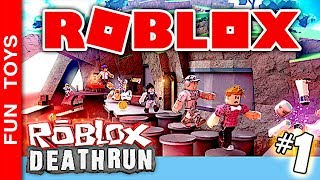 ROBLOX #1-in DeathRun mode! Will we be able to stay in FIRST? Who are you rooting for?