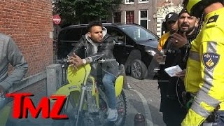 chris brown stoned and charming during traffic stop   tmz