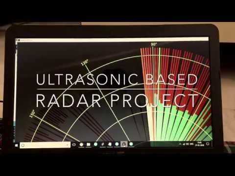 Ultrasonic Radar Project-Plan position indicator