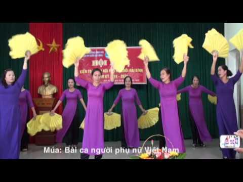 Múa: Bài ca người phụ nữ Việt Nam và Đảng đã cho ta mùa xuân ( Tốp nữ Hải Bình )