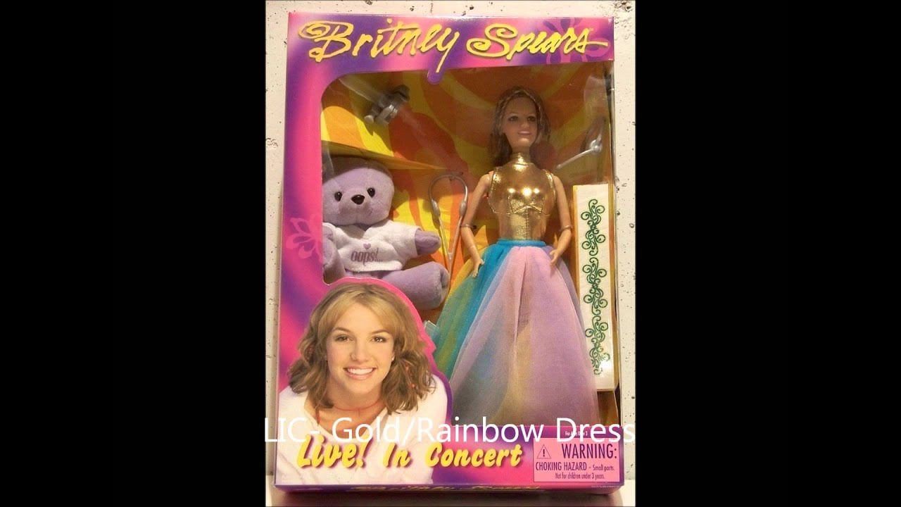 Britney Spears Dolls Full Original Collection Youtube