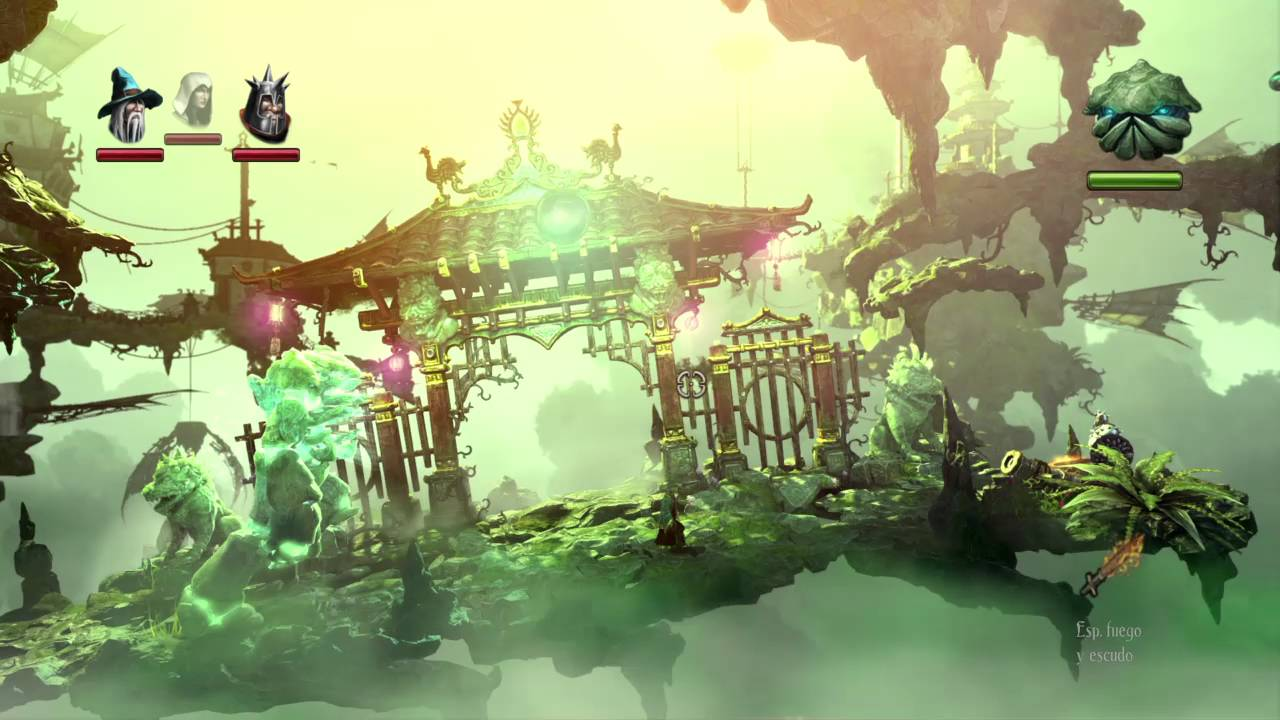 Game with watercolor - Trine 2 Complete Story Ps4 Game Play 2 Player