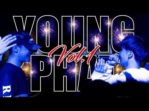 藤KooS vs SeUfRain / ベストバウト / YOUNG PHAT vol.1 'C,Dブロック準決勝' U-22 MC BATTLE