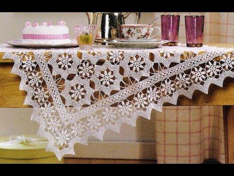 Dantel Masa Ortusu Ornekleri Crochet