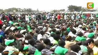 Kibaki & Raila at Kisumu Rally