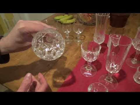 Collecting Lead Crystal Glasses - Most Common Finds
