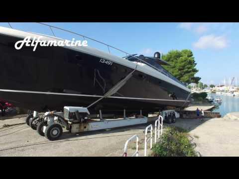 Itama 75' Yacht Spostamento e Varo/Shifting and Launch