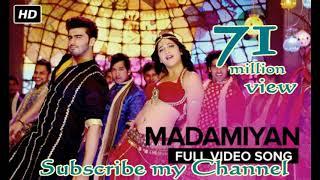 Madamiyan (Uncut Full Video Song)  Tevar  Arjun Kapoor  Shruti Haasan