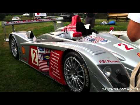 Le Mans Audi R8 Unloading