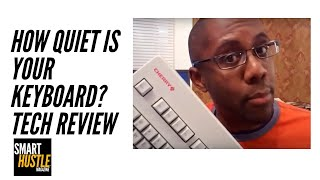 How Quiet Is your keyboard? Review of the Cherry MX Silent Keyboard.
