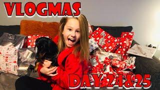 CHRISTMAS DAY & CHRISTMAS EVE | VLOGMAS 2018 - DAY 24 & 25