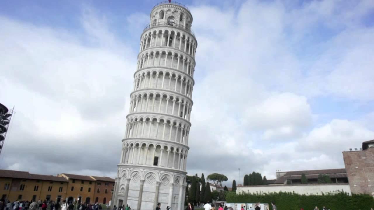 La tour de pise en timelapse youtube - La tour de pise se redresse ...