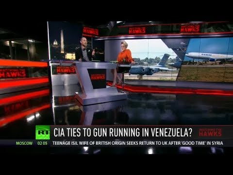 CIA Linked to Plane Caught Smuggling Weapons into Venezuela?