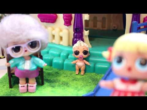 Novelinha de bonecas LOL A vovó da Lucy e...