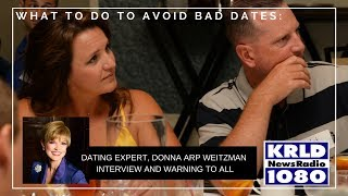 Donna Arp Weitzman LIVE on Radio discussing Worst First Dates