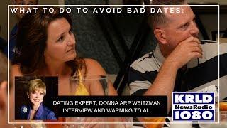 Donna Arp Weitzman LIVE on Radio discussing Worst First Dates
