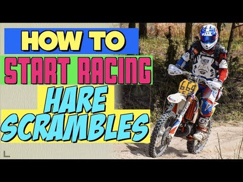 How to Start Racing Hare Scrambles... even if you SUCK