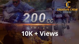 200cc - Game On | Tamil short film 2019 | Creative Crew | Road Awareness