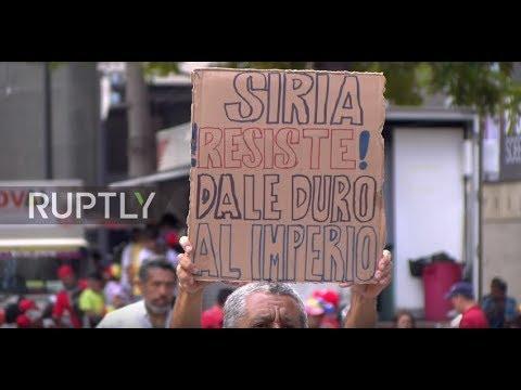 Venezuela: Maduro condemns 'imperialist war' in Syria