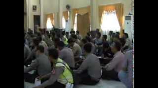 Polres Inhil Siap Amankan PILGUB RIAU dan PILBUP INHIL 2013 - 2018