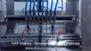 Flowmetreli Otomatik Dolum Makinası - HAR Makina