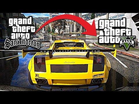 High Graphics ENB MOD On GTA San Andreas Android | GTA 5 Graphics Mod On GTA San Andreas Android