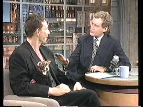 Mickey Rourke interview on The Late Show (1994)