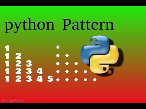 Python Pattern In Hindi B.Mandal