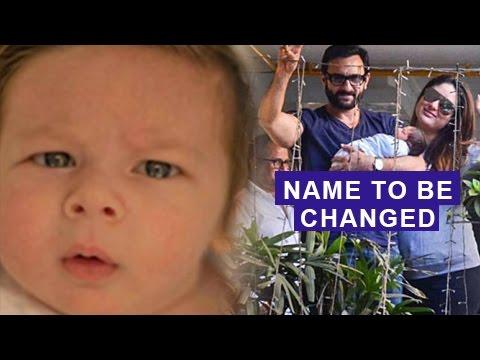Kareena Kapoor & Saif Ali Khan To Change Taimur Ali Khan's Name | Shocking Interview