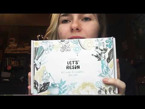 "UNBOXING ""LETS RESIN"" KIT"