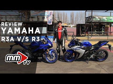 Review comparativa Yamaha R3A VS R3 en Motomundi TV
