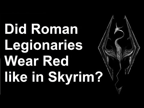 Did Roman soldiers wear red? - History vs. Pop Culture