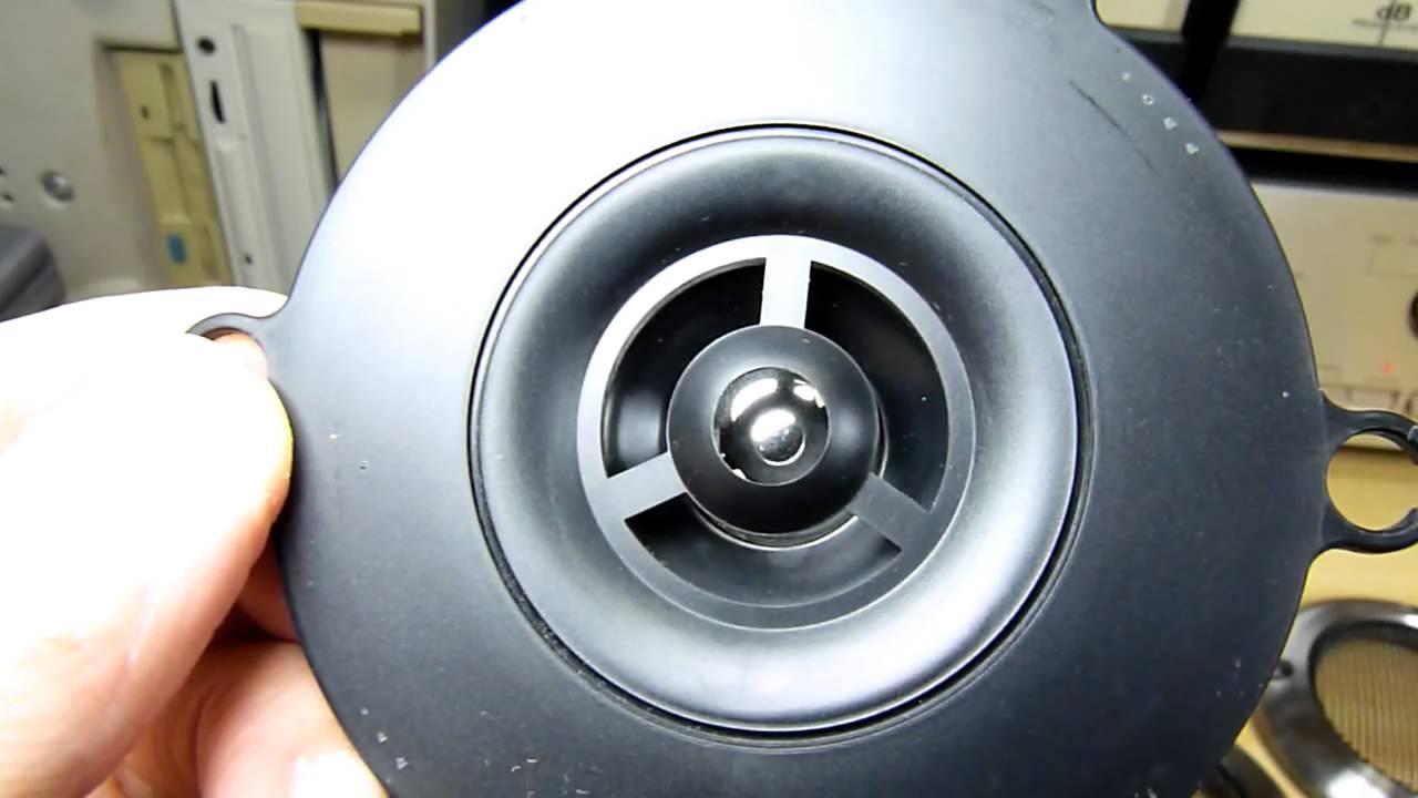 test Panasonic Piezo Speaker unit 3FP03KV Tweeter - YouTube