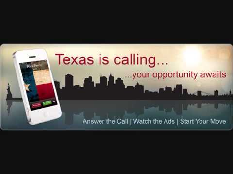 New York, Texas is Calling...Your Opportunity Awaits