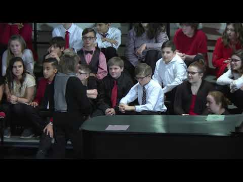 Northwood Middle School Holiday Concert 2017