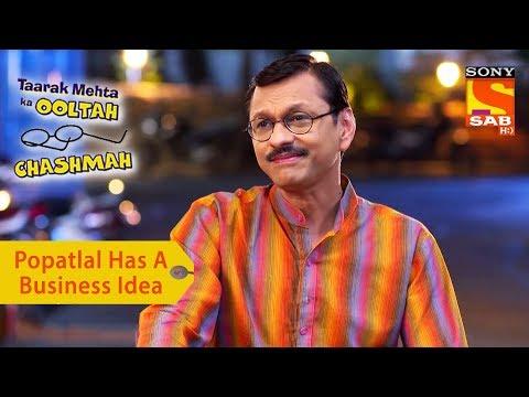 Your Favorite Character   Popatlal Has A Business Idea   Taarak Mehta Ka Ooltah Chashmah