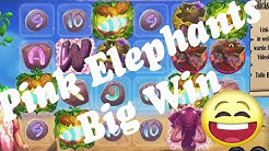 Online Casino Slots - Pink Elephants - Low bet Big Win - Freispiele
