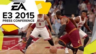 NBA Live 16 Gameplay Trailer - E3 2015 EA Press Conference