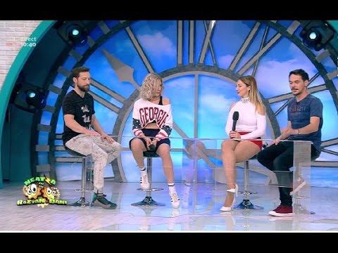 """""""Ghiceşte vedeta"""" cu Alina Eremia şi Dana Markitan, fosta concurentă de la X Factor"""
