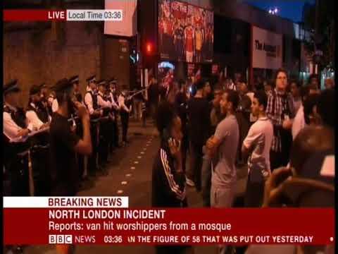 Finsbury Park Mosque terrorist attack BBC News