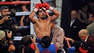 Manny Pacquiao wins WBO Welterweight title