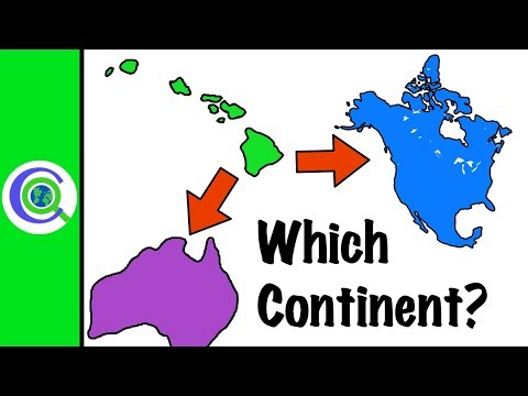 What Continent Is Hawaii In?