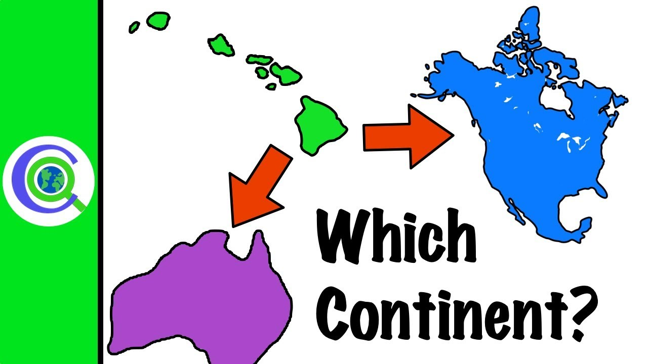 what continent is hawaii in youtube
