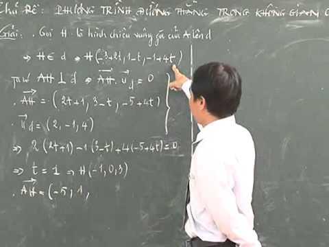 Bài Phương trình đường thẳng trong không gian (P1) - Thầy Trương Phước Truyền