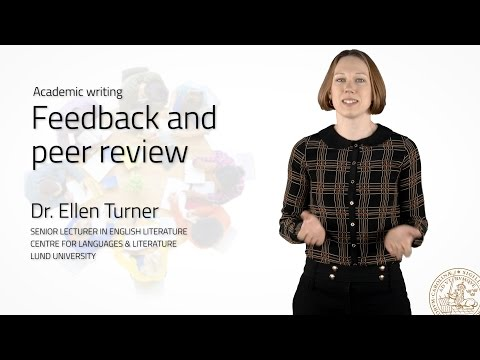 Feedback and peer review