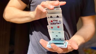 Card Tricks: The Dribble Flourish [HD]