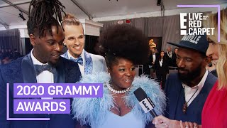 Tank and the Bangas Talk Attending First Grammys | E! Red Carpet & Award Shows