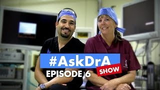 The #AskDrA Show |  Episode 6 | Chewing Gum, Counting Carbs, Hair Loss | Sleeve Surgery