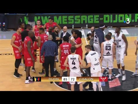 Coupe de France de basket : revoir JDA Dijon - Élan Chalon en intégralité