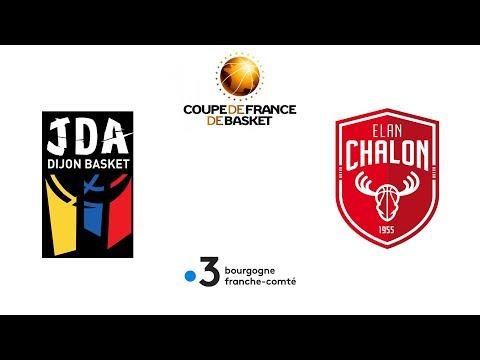 Coupe de France de basket : JDA Dijon - Élan Chalon en direct